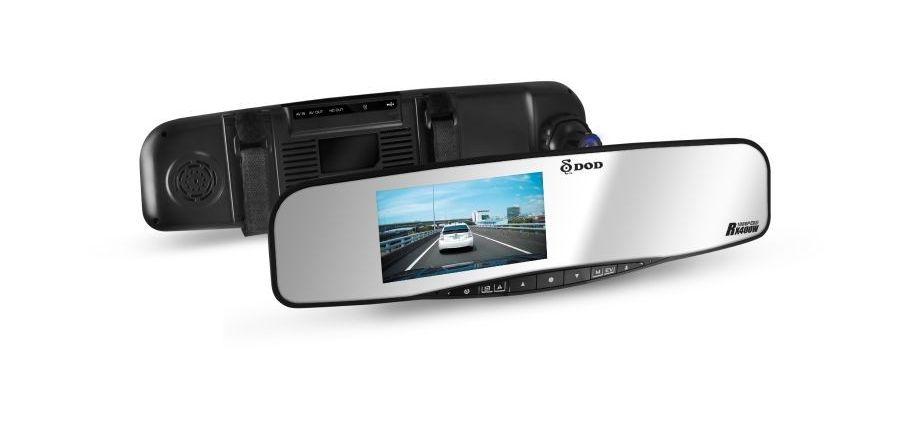 Wideo-rejestrator z lustrem RX400W dla poprawy bezpieczeństwa jazdy