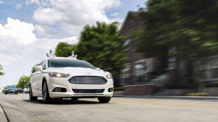 Autonomiczny samochód od Forda